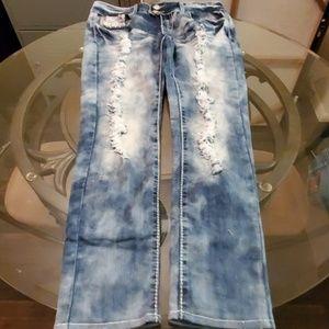 Twentyone Black Jeans Size 3/4